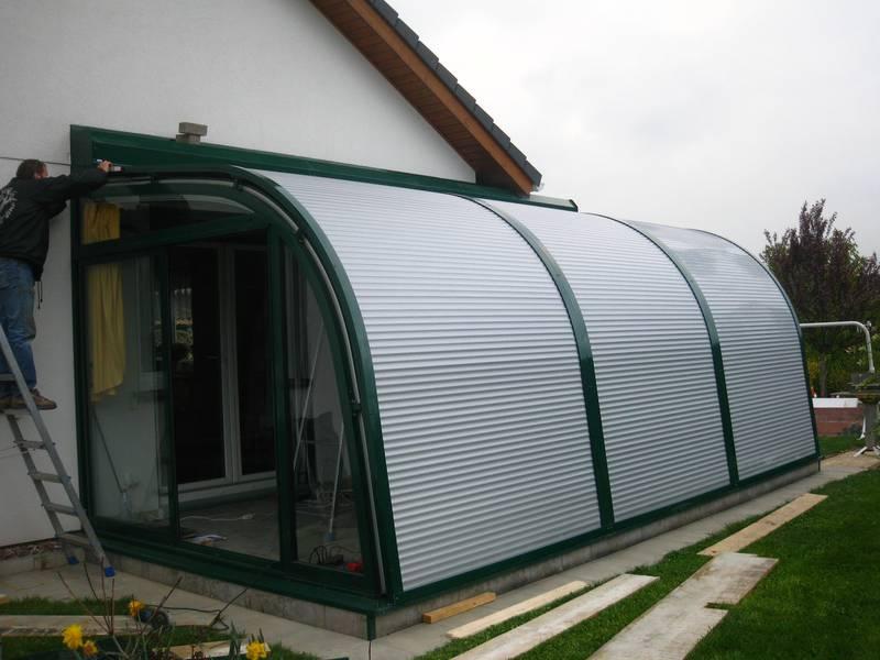 """wintergarten rolladen, außenbeschattung """"sun-star"""" für ihren wintergarten : tonn, Design ideen"""